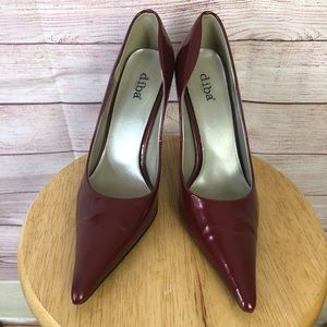 Diba Zoey Pointed ToePatent Leather Heels Size9M